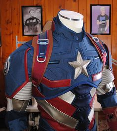 How It Was Made: Captain America Armor Variant – SMP Designs