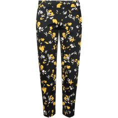 Spring Blossom Trouser featuring polyvore women's fashion clothing pants pants/shorts flower pants