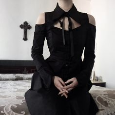 Best Fashion Advice of All Time – Best Fashion Advice of All Time Gothic Fashion, Retro Fashion, Korean Fashion, Mens Fashion, Alternative Mode, Alternative Fashion, All Black Dresses, Yennefer Of Vengerberg, Gothic Mode
