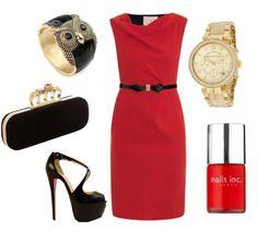 Rojo elegante