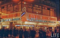 The Bowery Boys: New York City History: The Neon Beautiful: Images of New York at Night 1946