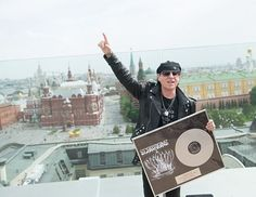 Klaus Meine. Red Square. Moscow, Russia, 2015.  #scorpions #scorpionsband #scorpionslive #iamklausmeine #klausmeine #follow #returntoforever #fanpage