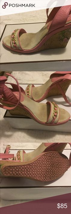 Shoes Coach shoes slightly worn very comfy Coach Shoes Wedges