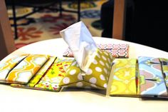Tissue Pouch Tutorial – part of the Gifts under $5 / 15 minutes series!