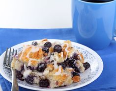 Blueberry Bread Pudding Recipe on Yummly