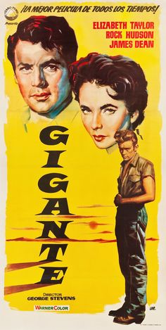 #Giant / #Gigante, 1955, spanish movie poster.