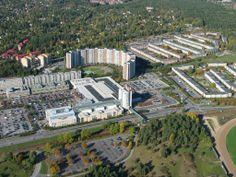 Täby, where I lived in 1990.