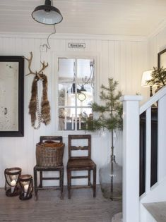 Christmas house in Sweden by stylist Anna Truelsen