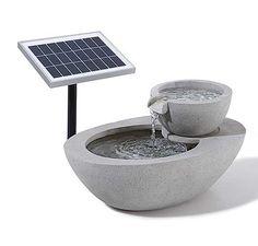 Solar-Gartenbrunnen
