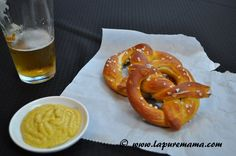 Vegan Soft Pretzels - la pure mama.:  These look really good - want to try them soon - maybe for SuperBowl.
