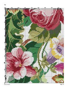 127579-6295d-43492919-m750x740-u9b223 (541x700, 200Kb) Cute Cross Stitch, Cross Stitch Flowers, Cross Stitch Charts, Cross Stitch Patterns, Hand Embroidery Stitches, Embroidery Designs, Holiday Crochet Patterns, Cutwork, Cross Stitching