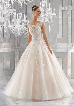 Blu Wedding Dresses 5573-1-2 from MoriLee | Deer Pearl Flowers