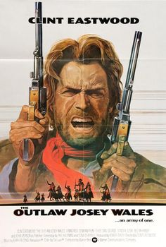 The Outlaw Josey Wales (1976) Original One-Sheet Movie Poster