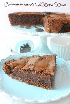 Crostata al cioccolato di Ernst Knam by dolci a gogo