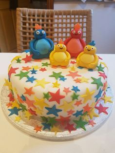Twirlywoos 1st birthday cake