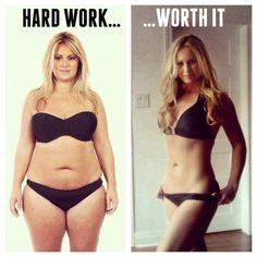 Hard Work....Worth It - #fitness #fitspiration