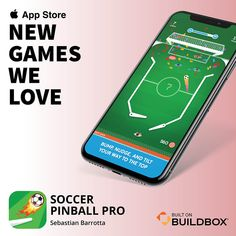 Buildbox is a new video game maker that is extremely easy to use. Using this video game software, anyone can design amazing games for mobile, console, and PC. Maker Video, Pro Builds, New Video Games, News Games, Pinball, Software, App, Apps