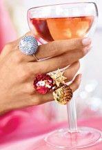 Flitteres gyűrű