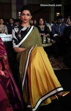 Deepika Padukone in Sari 2014