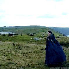 When Drogon says hi to Jon Snow.