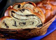 Chocolate Cinnamon Raisin Swirl Challah