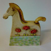 Prodané zboží od Akoča a Ufola Pottery Ideas, Clay, Christmas Ornaments, Holiday Decor, Home Decor, Horses, Shapes, Art, Clays