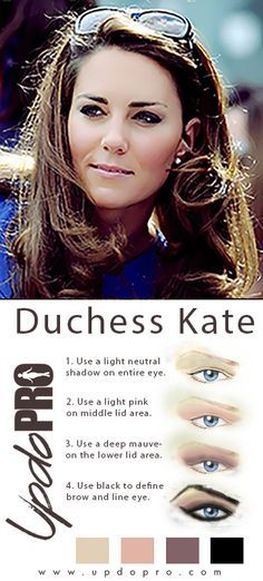 Augen Make Up Kate Middleton - Make-Up und Tattoo Kate Makeup, Skin Makeup, Makeup Tips, Beauty Makeup, Hair Beauty, Beauty Secrets, Beauty Hacks, Beauty Tips, Kate Middleton Makeup