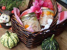 W królestwie smaków Beaty: Galareta z kurczaka do słoików Wicker Baskets, Cabbage, Picnic, Canning, Vegetables, Food, Drinks, Drinking, Beverages
