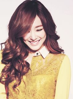 Tiffany SNSD Girls Generation Korean Hair  Korean Women Hairst  korean hairstyle   hairstyles