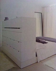 cabinet to devide bedroom