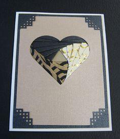 Heart iris folding