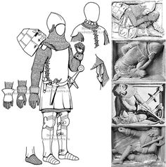 Knight Armor, Medieval Armor, Chivalry, Effigy, Character Creation, 14th Century, Middle Ages, Warfare, Swords