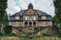 Abandoned Germany   Abandoned orphanage in Germany. Love the dual stairways!