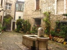 beautiful & tranquil place...  St paul de vence, provence