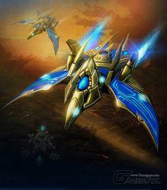 Protoss Phoenix Fighter