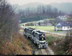 SOU 5048 Southern Railway EMD GP38-2 at Coeburn, Virginia by Ron Flanary