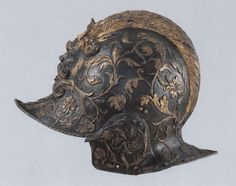 Burgonet once belonging to Henry II of France. (Louvre)