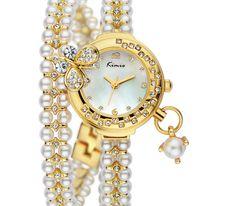 Wristwatch Analog KIMIO Bracelet Watch Crystal Hours Quartz