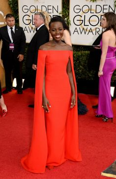 Lupita..... Her skin is amazing! So radiant