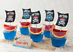 Playful & Modern Pirate Birthday Party Ideas // Hostess with the Mostess® 2 Year Old Birthday Party, Pirate Birthday, Boy Birthday Parties, Birthday Fun, Birthday Ideas, Sailor Birthday, Birthday Wishes, Pirate Party Games, Pirate Party Decorations