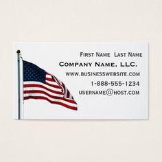 Patriotic american flag note card military veteran pinterest american flag 2371 business card colourmoves