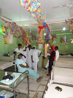 El hospital donde nuestra voluntaria ha colaborado como voluntaria en el proyecto sanitario en Gambia