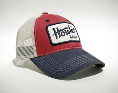 Howler Electric Mesh-Back Hat- Liberty Red