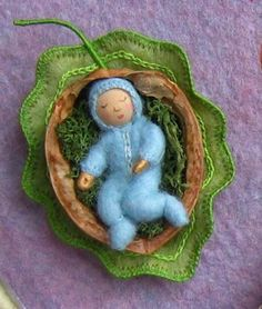 Walnut Tree Baby....maybe I could make a sun baby for yule.