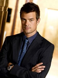 Josh Duhamel...his hazel eyes and large stature drive me mad! I wish they'd make a movie to finalize Las Vegas cos I have 2 more episodes before I finish rewatching the series for a second time haha