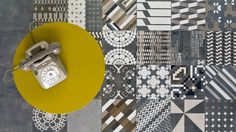 """We never use strong colours for our tiles"" - Patricia Urquiola"
