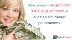 http://DigitalContact.com - Il est une chose de concevoir un courriel promotionnel, il est tout à fait une autre à venir avec un accueil email brillante. En suivant ces étapes, vous pouvez vous aussi faire un accueil email convaincant!  Envoyez jusqu'à 12.000 courriels par mois! Aucun contrat ou carte de crédit requis. Obtenez un compte gratuit - http://DigitalContact.com