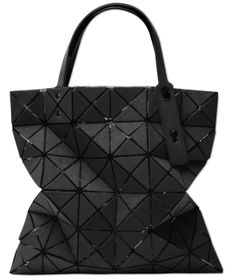BAO BAO ISSEY MIYAKE LUCENT SUEDE TOTE