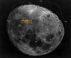 Chang'e 3 lunar landing location / Image courtesy of NASA
