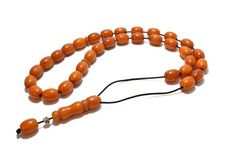 Bakelite Worry Beads, Kahraman Color, Greek Komboloi, 33 Beads, Prayer Beads, Stress Relief, Relaxation, Made in Greece, Men Gift, Komboloi Man Images, Prayer Beads, Stress Relief, Decorative Items, Men's Style, Greece, Mens Fashion, How To Make, Gifts